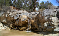 Kanab Cr. -- this amount of water unusual